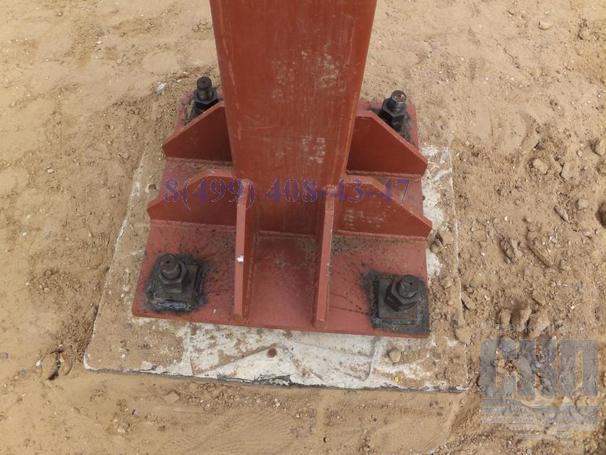 Как это сделано бетонные опоры