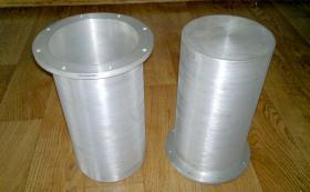Колпаки из цельнго алюминия