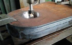 Обработка листа 60мм