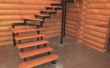 Лестница для частного сектора