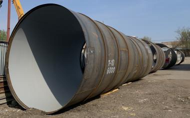 Сборка обечаек диаметр 4200мм