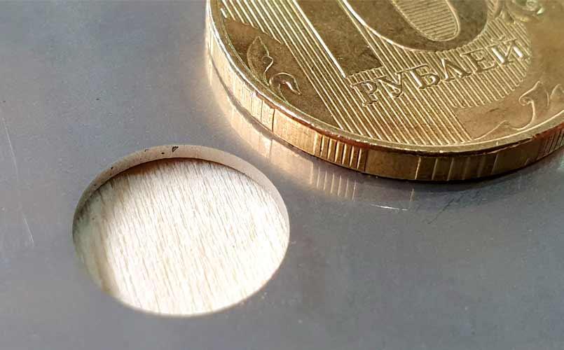 Образец лазерного реза 2